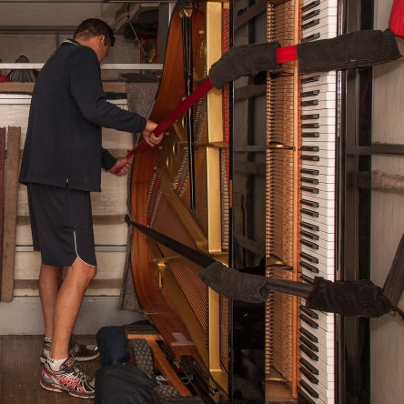 Securing the piano