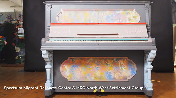 um Migrant resource Centre & MRC North West Settlement Group. Play Me Im Yours. Melbourne 2018.