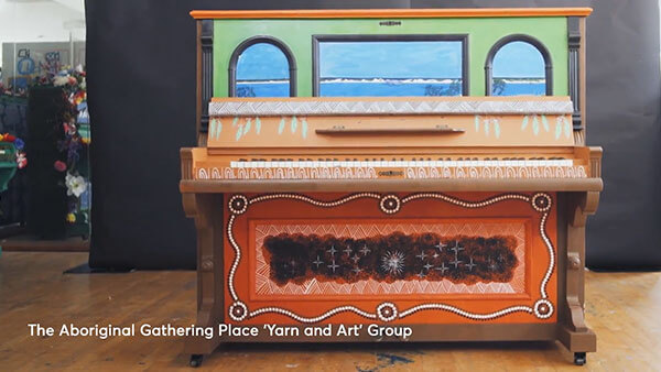 The Aboriginal Gathering Place 'Yarn and Art' Group