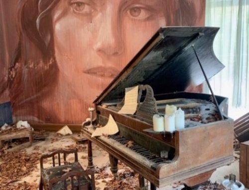 Rone's Piano Installation